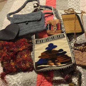 Cross body purse lot + others....